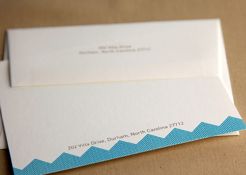 Herringbone Stationery