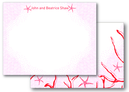 Beach Walk Stationery