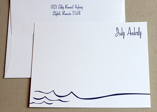 Wave Stationery
