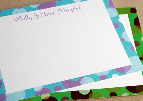 Big Polka Stationery