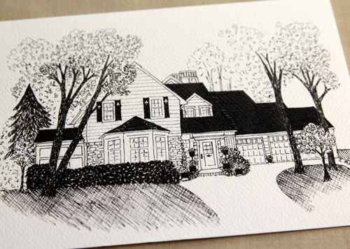 Home Cabin or Cottage Stationery