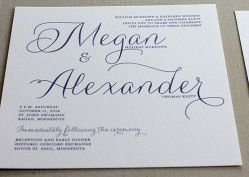 2 script  lace invitation invite only
