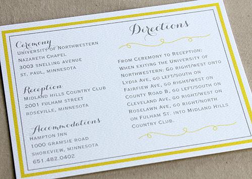 4 Crisp Clean Directions Card