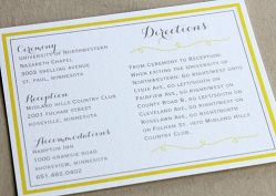 4 crisp  clean directions card