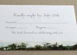 3 vintage photo-reply card